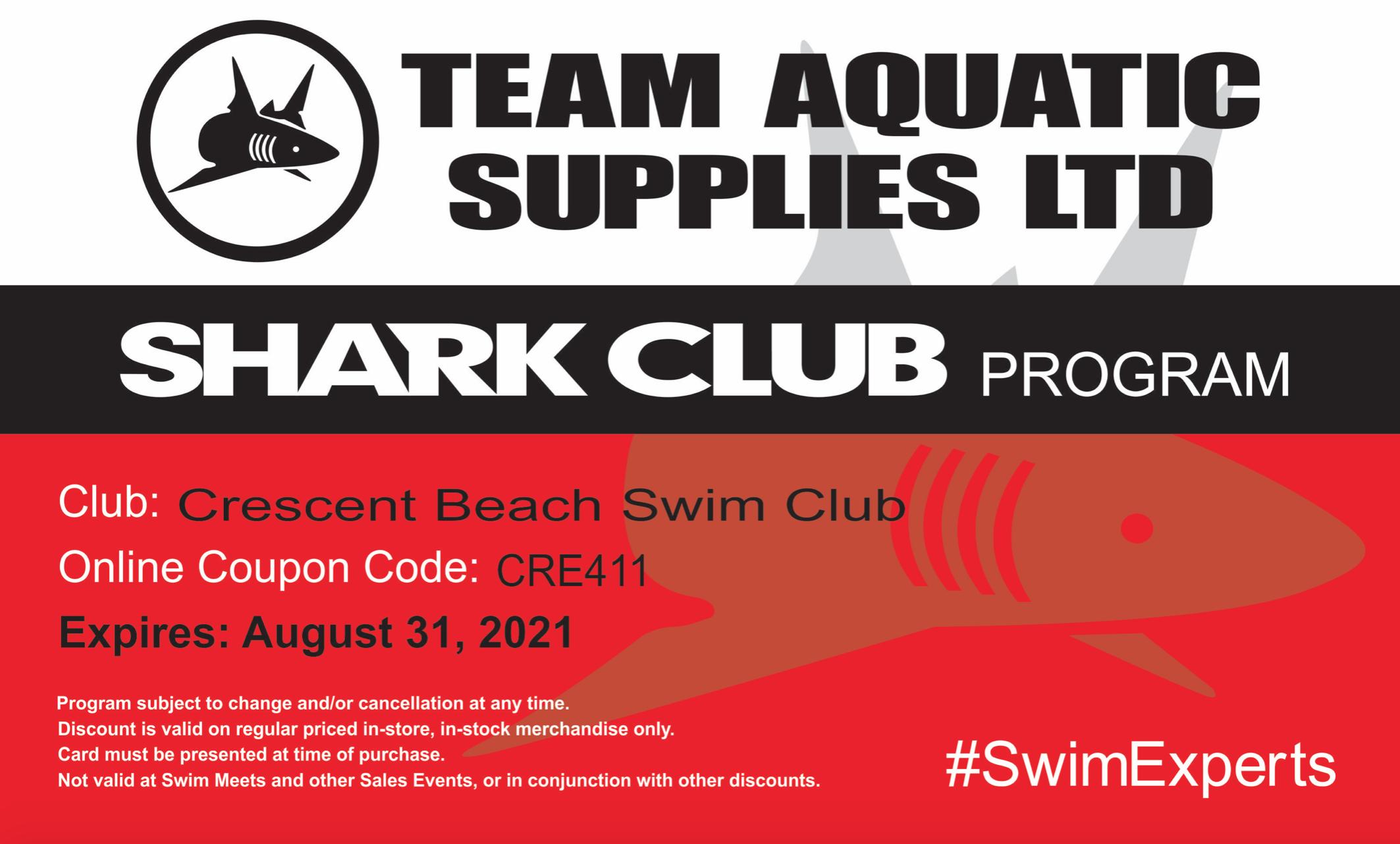 Shark C Team Aquatics