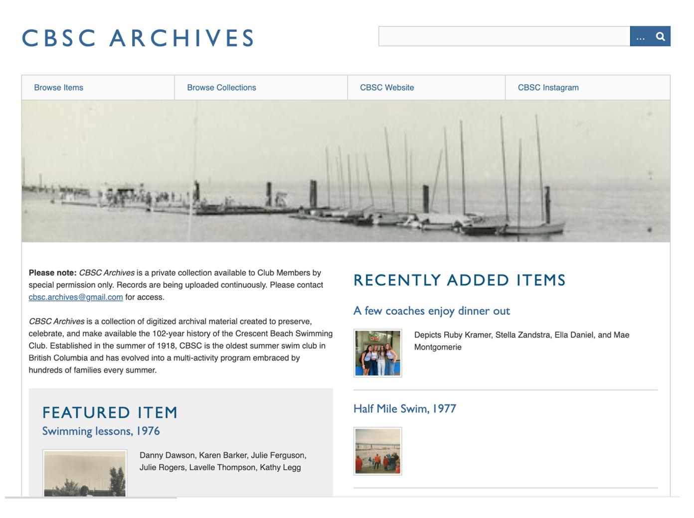CBSC Archives